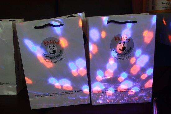 Panda Chinese Restaurant: goody bag