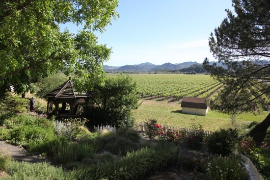 Cloverdale, Californien: View from the veranda