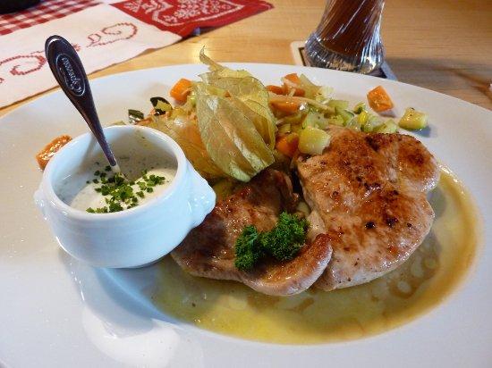 Koenigsbrunn, Jerman: Leckeres Mittagessen