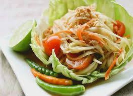 Temple Terrace, FL: Papaya Salad