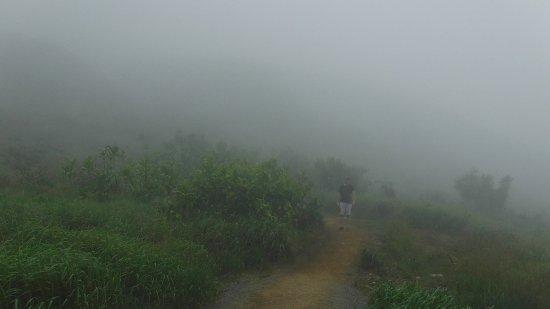 Waihee, HI: in the clouds