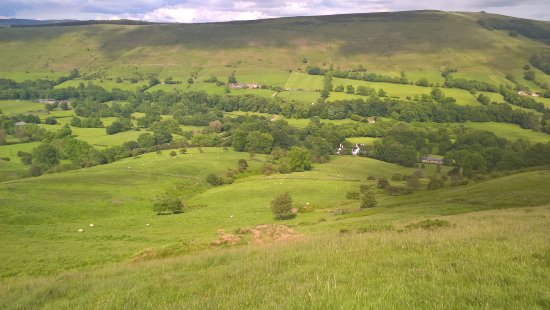 Losehill House Hotel & Spa: From the hill .. nestling in Edale