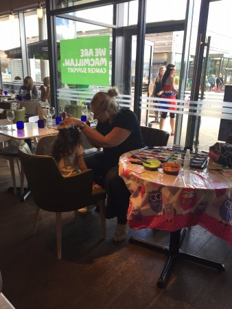 Our Guests Love Face Painting Picture Of Pizza Express