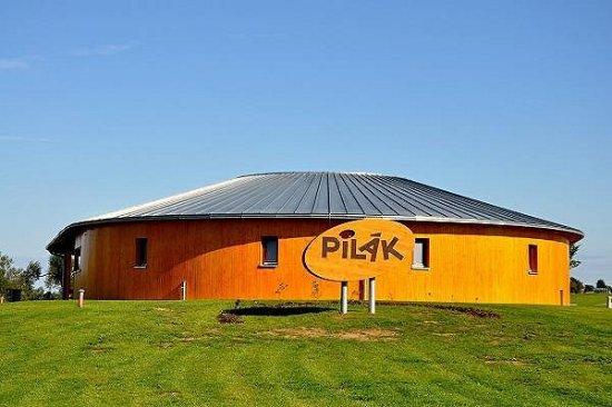 Zdar nad Sazavou, Republik Ceko: Ústřední objekt rekreačního areálu Pilák