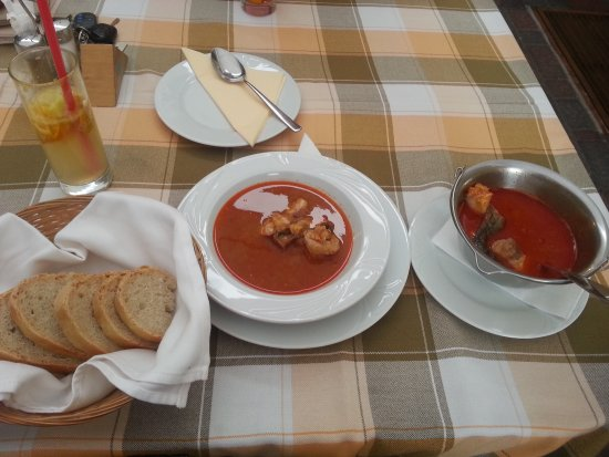 Veszprem County, Hungría: Hungarian fish soup
