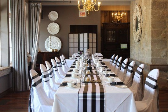 Small Ceremony Reception In Earl Grey Room Picture Of Flour Mill