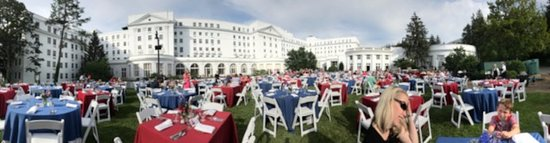 The Greenbrier: Independence Day Celebration Picnic Panorama