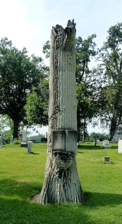 Forest Lawn: Victorian Tree memorial