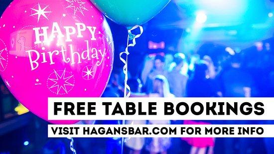 Dungannon, UK: Free Table Bookings @HagansBar