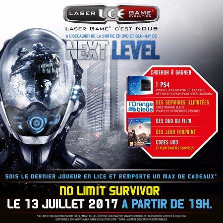 Tournai, Bélgica: No-limit Survivor 13 juillet 2017