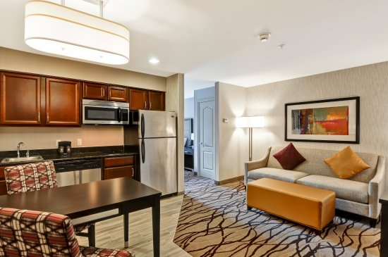 "Homewood Suites by Hilton Boston Cambridge-Arlington: ""Standard"" room-is a Queen Studio Suite with Kitchenette, stovetop,dishwasher, all you need to c"