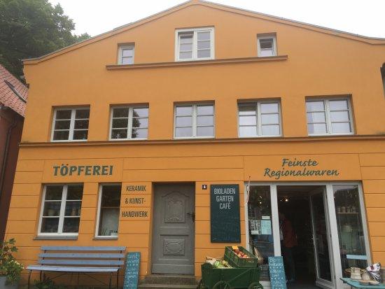 Gingst, Niemcy: Hier gibt's Leckeres und Getöpfertes