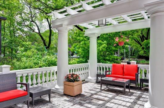 Balcony - Picture of Homewood Suites by Hilton Boston Cambridge-Arlington, Arlington - Tripadvisor