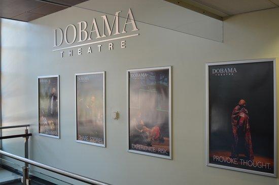 Cleveland Heights, Ohio: Dobama Theatre walkway