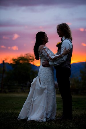 Victor, ID: Sunset Wedding
