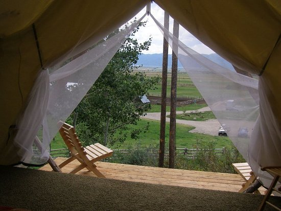 Linn Canyon Ranch: Tent view