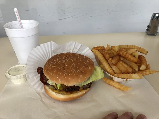 Awesome burgers at West Pier Drive-In