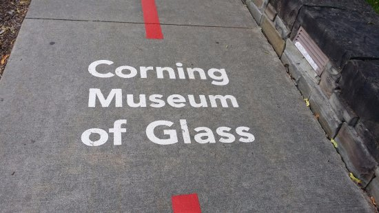 Corning, NY: foot path