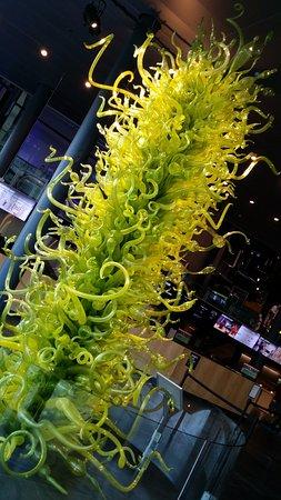 Corning, NY: glass tree
