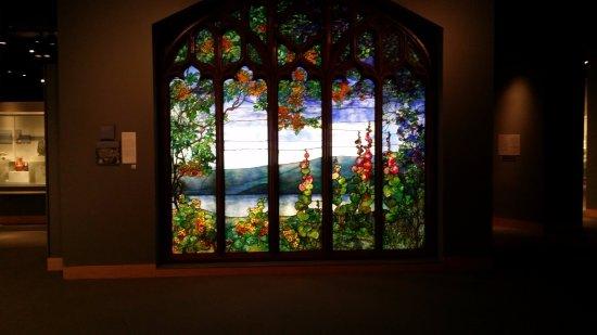 Corning, Nova York: glass display