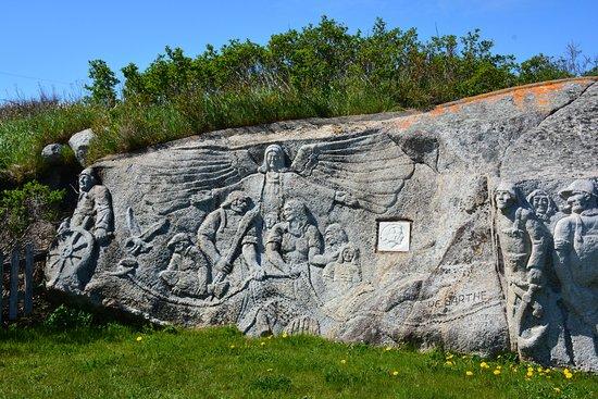 William E. deGarthe Memorial Monument
