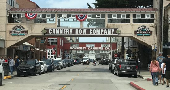 History of Cannery Row & The Monterey Bay Inn