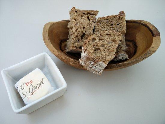 Groot-Bijgaarden, Belgium: broodje met boter