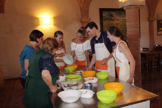 Peccioli, Itália: Private Cooking Class