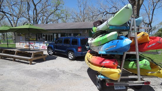 Gerry's Kayaks: Kayak drop-off and pick-up services available