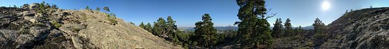 Bayanaul, Kazakhstan: mountain panorama