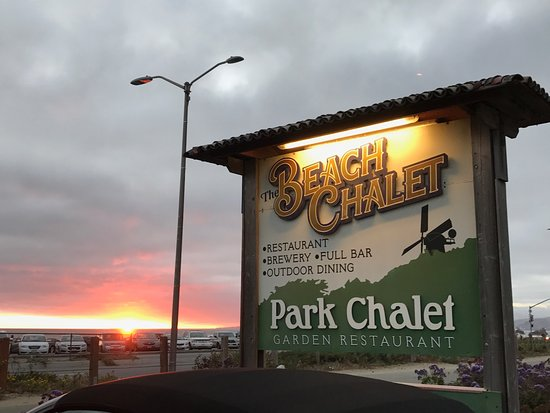 Beach Chalet Brewery And Restaurant Interesting Sunset At The San Francisco