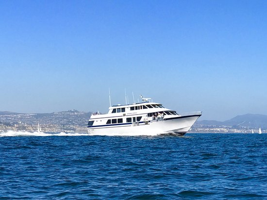 Catalina EXPRESS leaving DANA POINT HARBOR, CA!