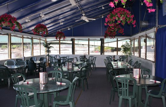 Kittery, ME: enjoy lunch or dinner on our outside deck