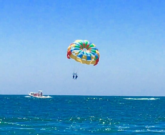 😎Parasailing outside of DANA POINT HARBOR, CA!