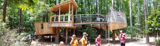 Museum of Life + Science: Awesome Treehouse