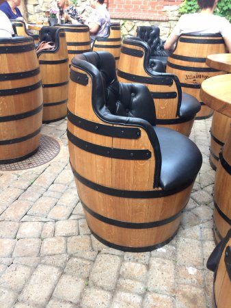 Chairs Made Of Whisky Barrels Picture Of Lord Jack Rzeszow
