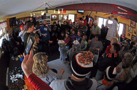 Madison, Nueva Hampshire: Apres ski at the Trail's End Tavern