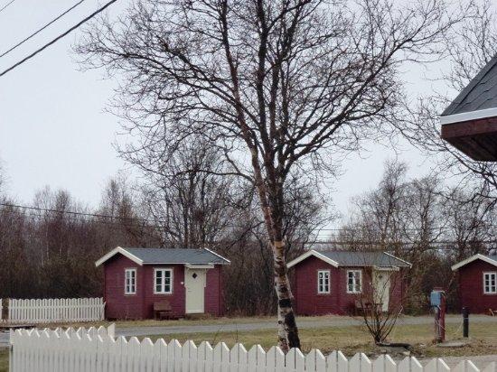 Lakselv, Norveç: Hüttenbereich