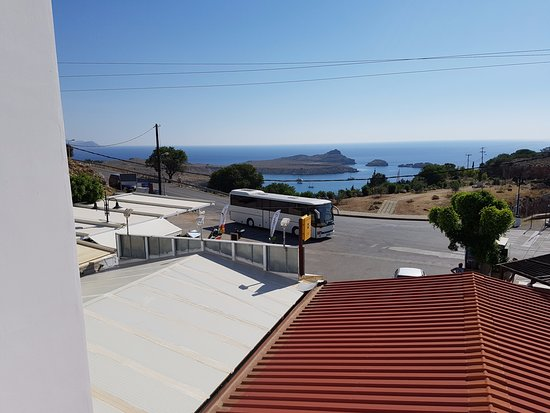 Romanza Studios: View from balcony