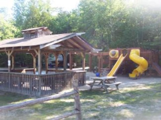 Egg Harbor, WI: First playground with outdoor gazeebo