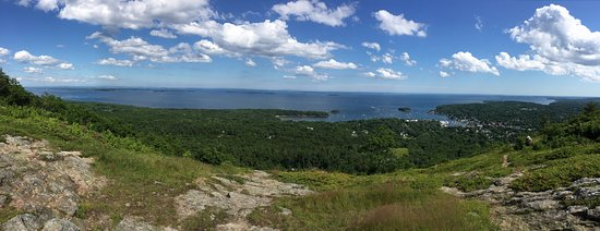 Mount Battie: Panoramic View from the Top