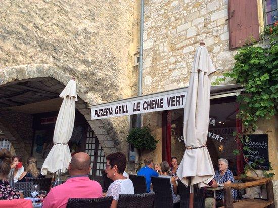 Le Chene Vert : Pizzeria le chêne vert à Monpazier