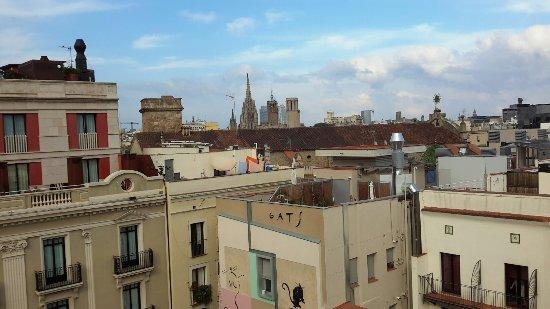 kathedraal van barcelona picture of turin hotel barcelona tripadvisor. Black Bedroom Furniture Sets. Home Design Ideas