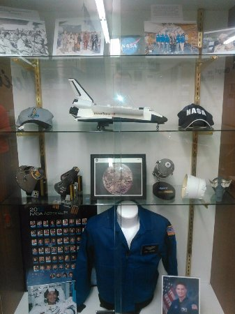 Riverside, IA: NASA Display