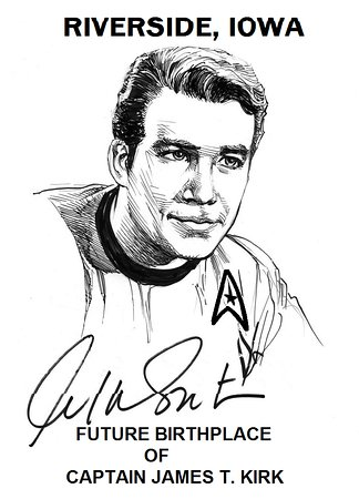 Riverside, IA: Future Birthplace of Captain James T Kirk