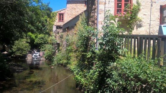 Brousses-et-Villaret, France: Le moulin et son cadre bucolique