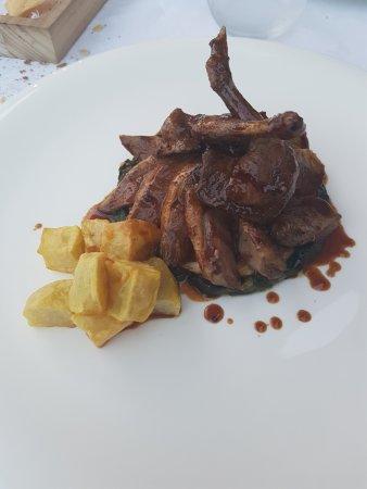 Zane, Italien: secondo piatto a base di piccione