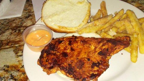 Saint Clair Shores, MI: Grill Chicken sandwich..