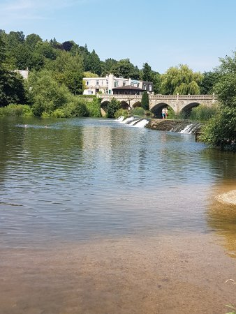 Claverton, UK: Warleigh Weir