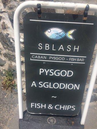 Sblash Caban Pysgod